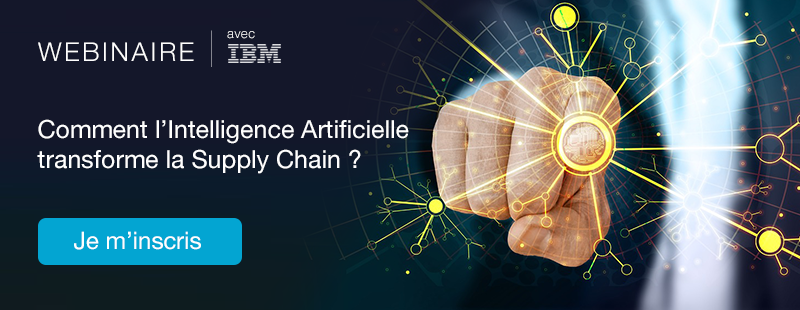 Webinaire intelligence artificielle et supply chain