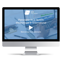 Webinaire Panorama de la facture électronique à l'international